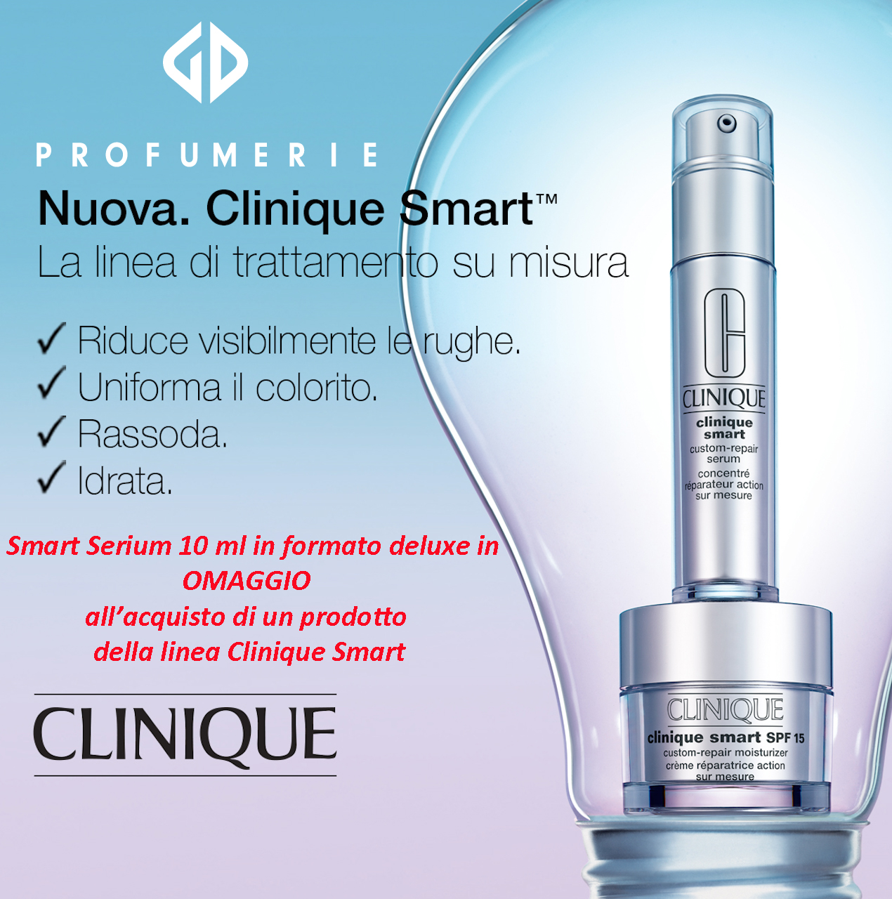 CLINIQUE SMART SERUM FN GENNAIO 2016