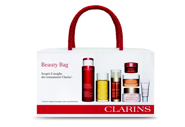 clarins beauty bag gift